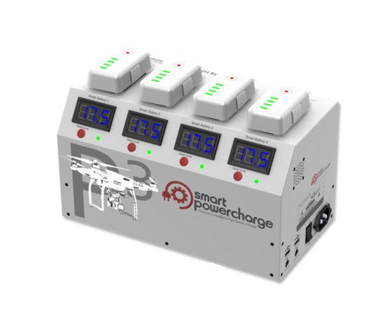 Smart Time Xt 08 >> Phantom 3 Smart PowerCharge Charging Station - Innovative UAS | Drones