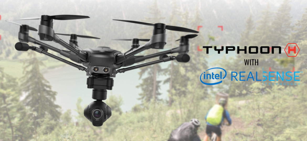 Yuneec Typhoon H RS Banner