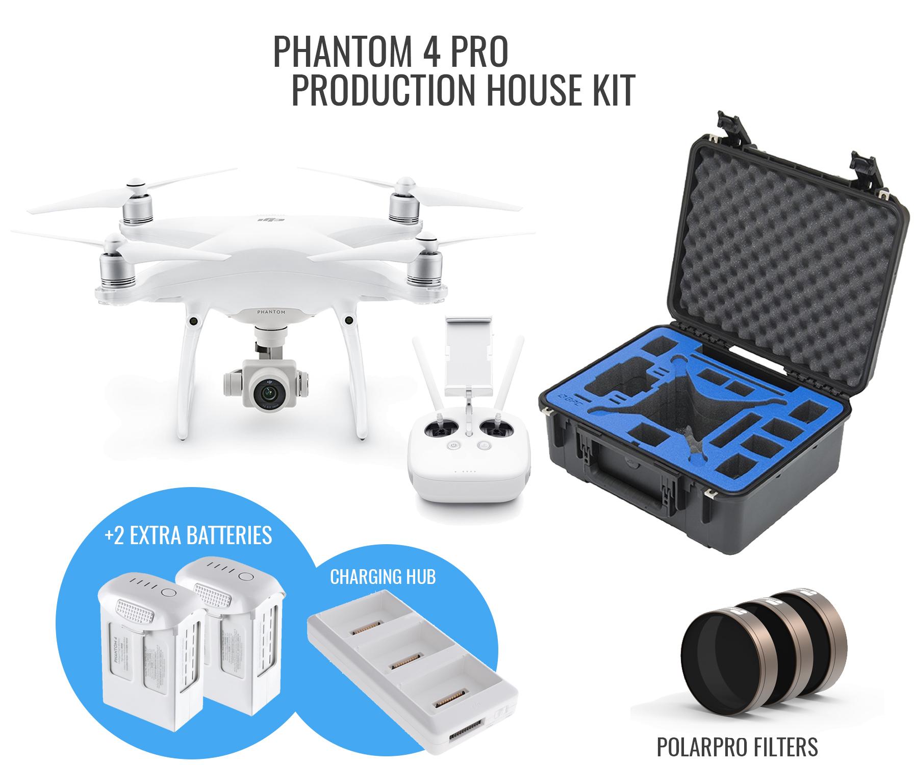 DJI Phantom 4 Pro V2 0 Production House Kit