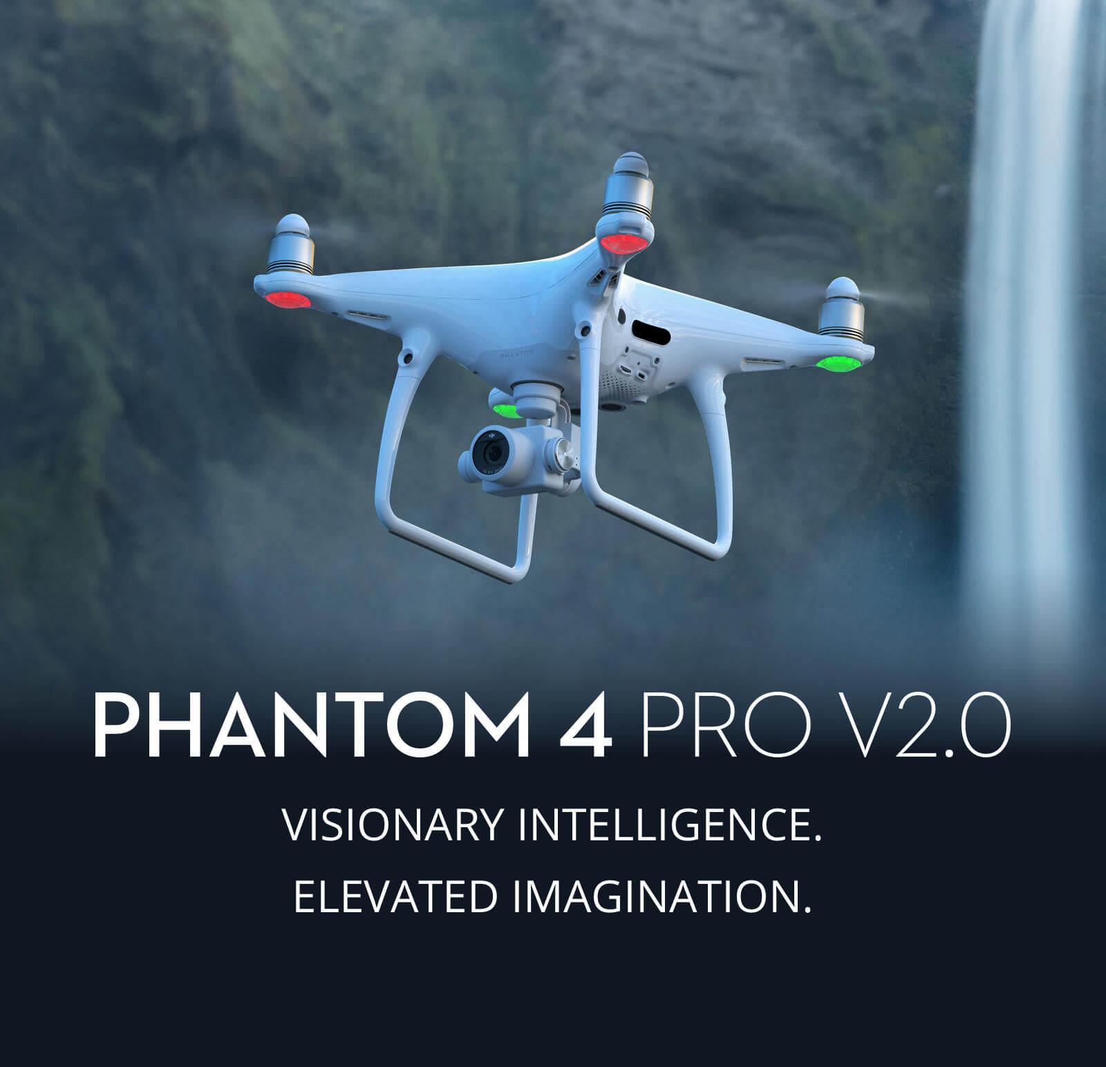 Dji Phantom 2 >> Phantom 4 Pro+ V2.0 - Innovative UAS | Drones